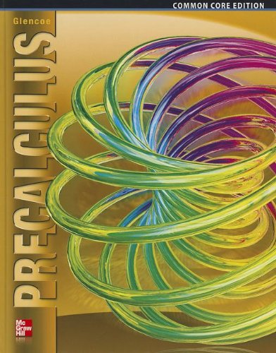 Precalculus, Student Edition   2014 (Student Manual, Study Guide, etc.) 9780076641833 Front Cover