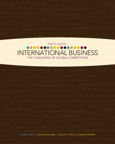 International Business The Challenge of Global Competition 12th 2010 edition cover