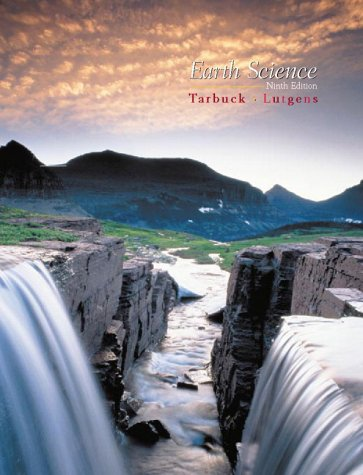 Earth Science  9th 2000 edition cover