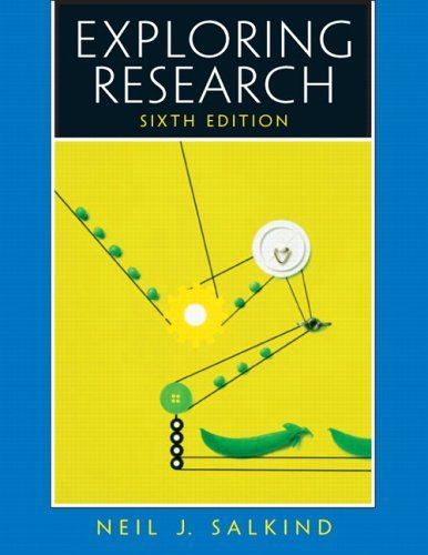 Exploring Research  6th 2006 edition cover