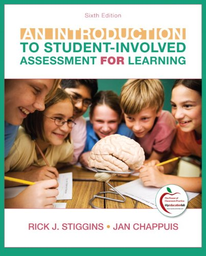 Introduction to Student-Involved Assessment for Learning  6th 2012 edition cover