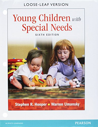 YOUNG CHILDREN W/SPECIAL...-ACCESS      N/A 9780133397833 Front Cover