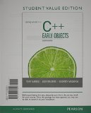 Starting Out with C++ Early Objects  8th 2014 (Student Manual, Study Guide, etc.) 9780133441833 Front Cover