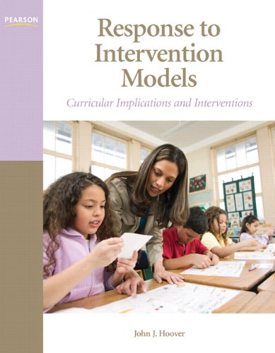 Response to Intervention Models Curricular Implications and Interventions  2011 edition cover