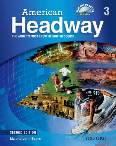 American Headway, Level 3  2nd (Student Manual, Study Guide, etc.) edition cover