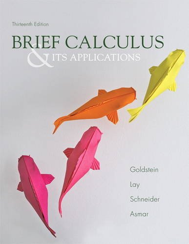 Brief Calculus and Its Applications  13th 2014 edition cover