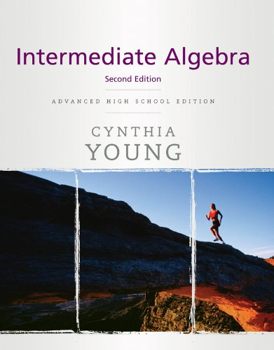 Intermediate Algebra  2nd 2010 9780470504833 Front Cover