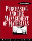 Purchasing and the Management of Materials  7th 1994 (Revised) 9780471549833 Front Cover
