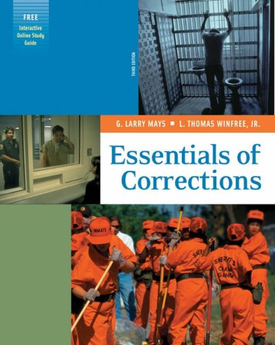 Essentials of Corrections  3rd 2005 edition cover