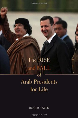 Rise and Fall of Arab Presidents for Life   2012 edition cover