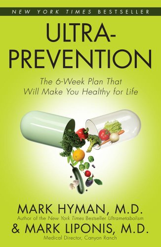 Ultraprevention The 6-Week Plan That Will Make You Healthy for Life  2005 9780743448833 Front Cover