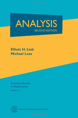 Analysis  2nd 2001 (Revised) edition cover