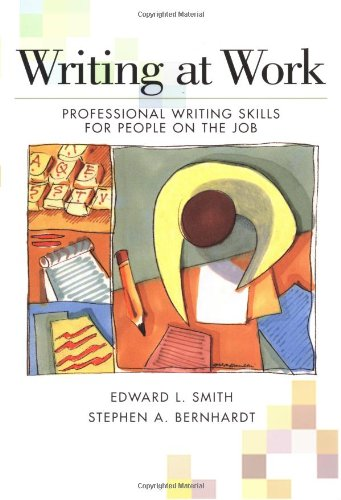 Writing at Work Professional Writing Skills for People on the Job  1997 edition cover