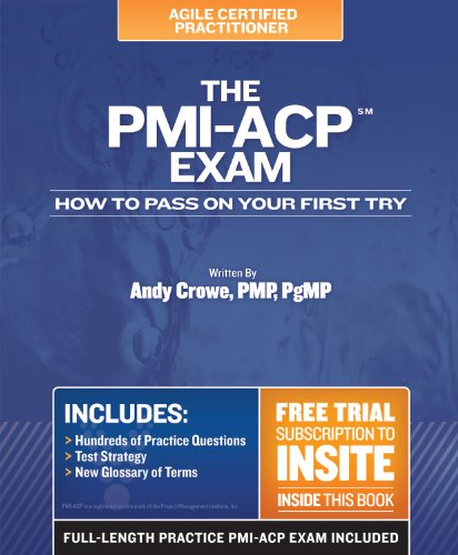 PMI-ACP Exam How to Pass on Your First Try  2011 edition cover