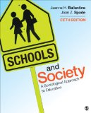 Schools and Society A Sociological Approach to Education 5th 2015 edition cover