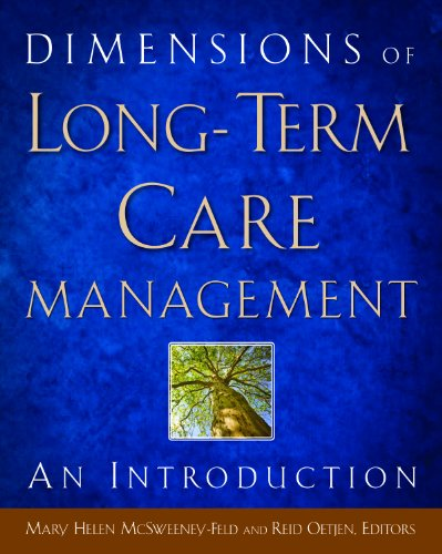 Dimensions of Long-Term Care Management An Introduction  2011 edition cover