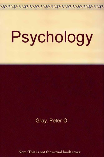 Psychology 3E and Study Guide and Cd Rom with Psyquest and Psysim  1999 9781572599833 Front Cover