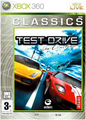 Test Drive Unlimited (Xbox 360) Xbox 360 artwork