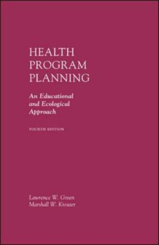 Health Program Planning An Educational and Ecological Approach 4th 2005 edition cover