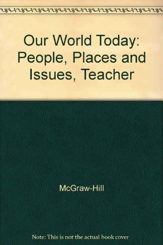 Our World Today: People, Places, and Issues  2003 edition cover