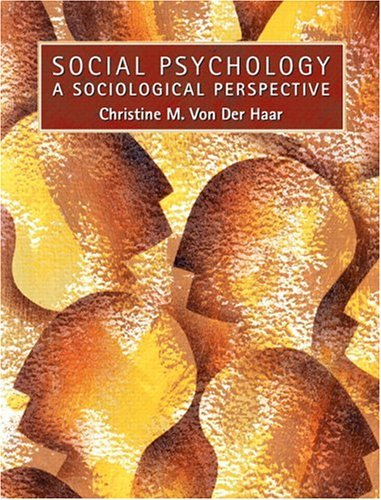 Social Psychology A Sociological Perspective  2005 edition cover