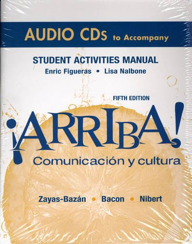 ARRIBA!  -STUDENT ACT.MAN.AUDI 5th 2008 edition cover