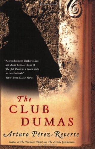 Club Dumas   2006 edition cover