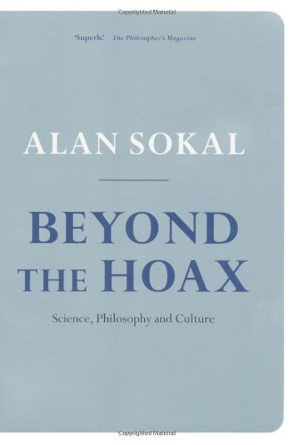 Beyond the Hoax Science, Philosophy and Culture  2010 edition cover