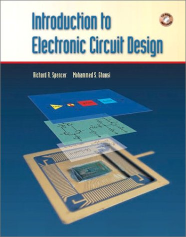 Introduction to Electronic Circuit Design   2003 edition cover