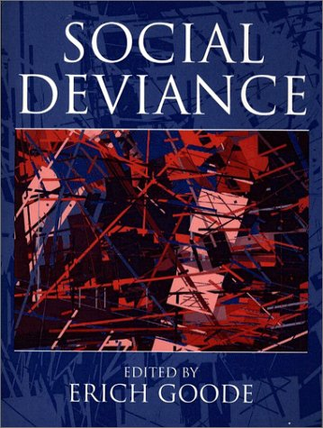 Social Deviance  1st 1996 edition cover