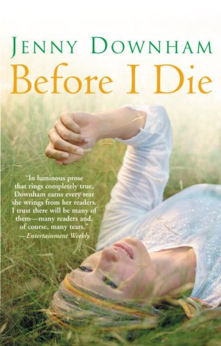 Before I Die   2009 edition cover
