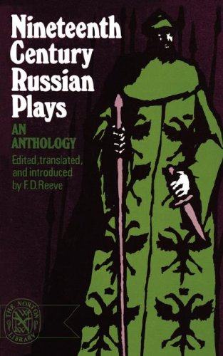 Nineteenth-Century Russian Plays  Reprint  edition cover