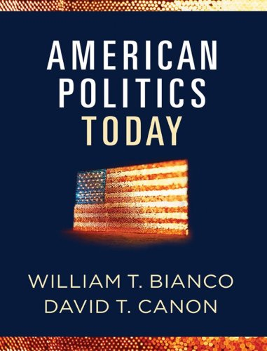 American Politics Today Full Edition  2009 edition cover