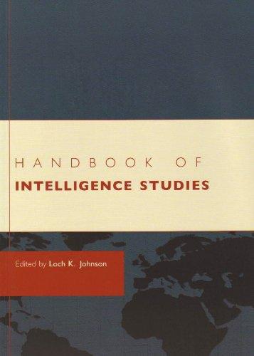 Handbook of Intelligence Studies   2007 edition cover