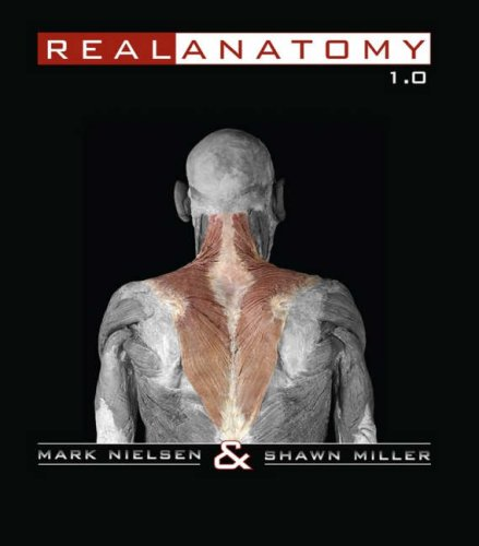 Real Anatomy Software DVD   2008 edition cover