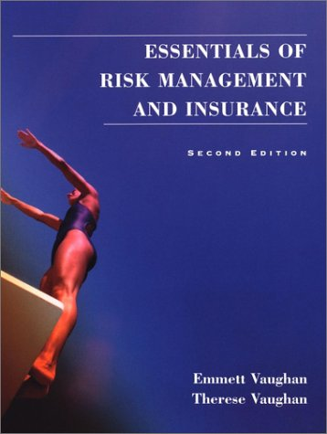 Essentials of Insurance  2nd 2001 edition cover