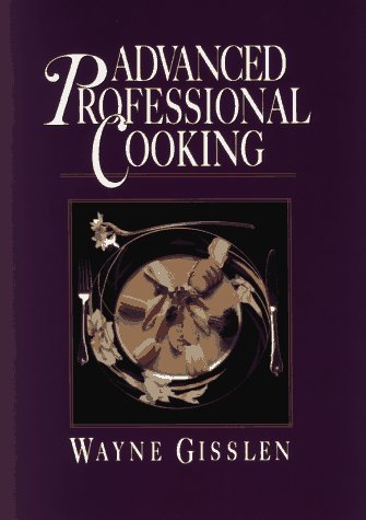 Advanced Professional Cooking   1992 edition cover