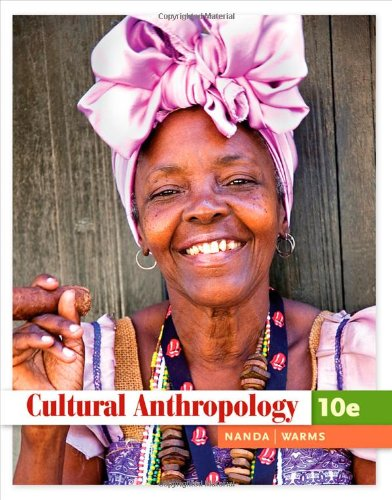 Cultural Anthropology  10th 2011 edition cover