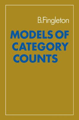 Models of Category Counts  N/A 9780521272834 Front Cover