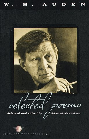 W. H. Auden Selected Poems N/A edition cover