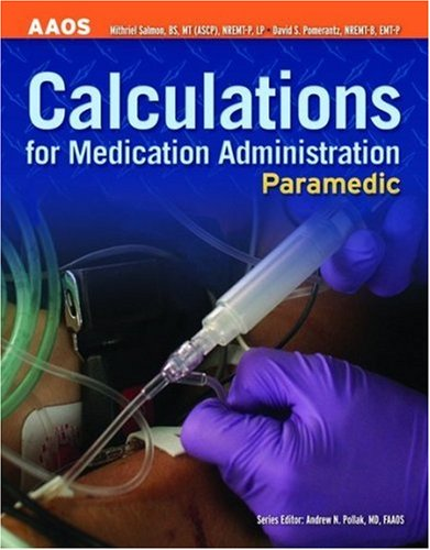 Calculations for Medication Administration   2009 edition cover