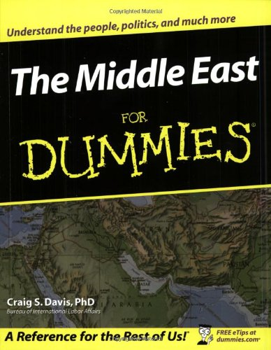 Middle East for Dummies   2003 edition cover