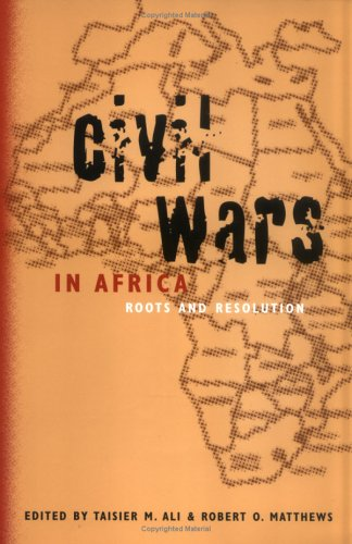 Civil Wars in Africa Roots and Resolution N/A edition cover