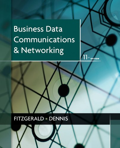 Business Data Communications and Networking  11th 2012 edition cover