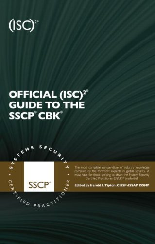 Official (ISC)2 Guide to the SSCP CBK  2nd 2010 (Revised) edition cover