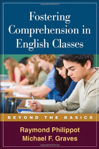 Fostering Comprehension in English Classes Beyond the Basics  2009 edition cover