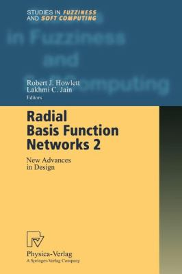 Radial Basis Function Networks 2 New Advances in Design  2001 9783790824834 Front Cover