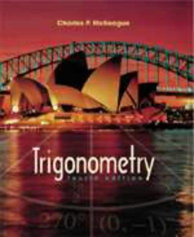 Trigonometry  4th 2002 edition cover