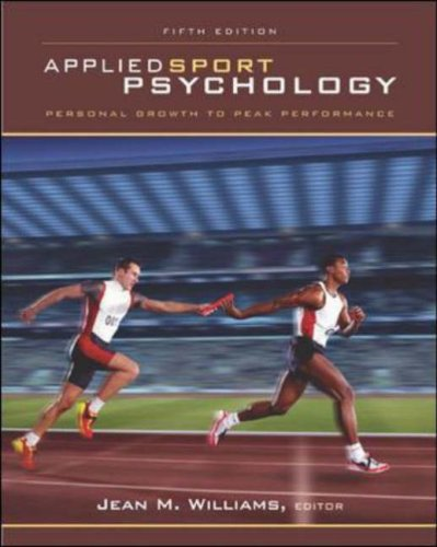 Applied Sport Psychology Personal Growth to Peak Performance 5th 2006 (Revised) edition cover