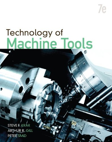 Technology of Machine Tools  7th 2011 edition cover